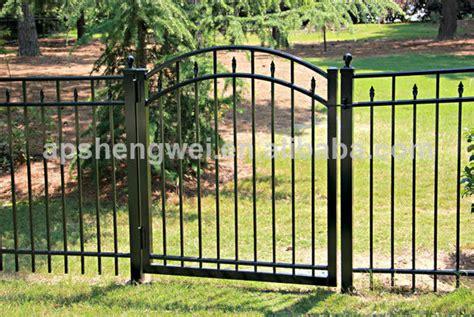 backyard gates for sale shengwei fence powder coated galvanized backyard metal