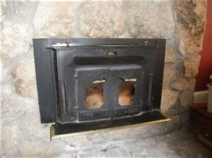 buck wood stove fireplace insert vintage 27000