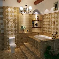 bathroom ceramic tile design beige tile bathroom from tiles manufacturer in china