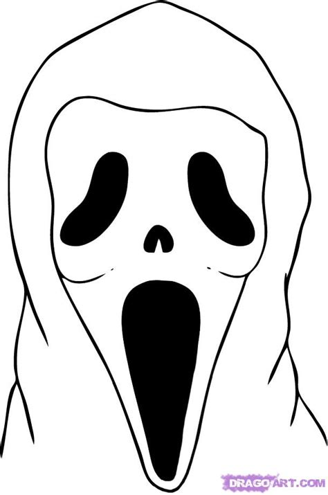 4 best images of scream mask printable scream halloween