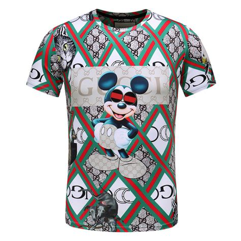 louis vuitton pattern t shirt buy cheap gucci mickey mouse pattern t shirts for men