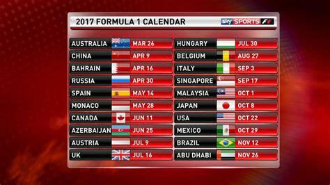 fia confirms race calendar news