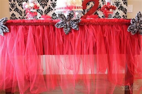 someday crafts tulle tutu table skirt