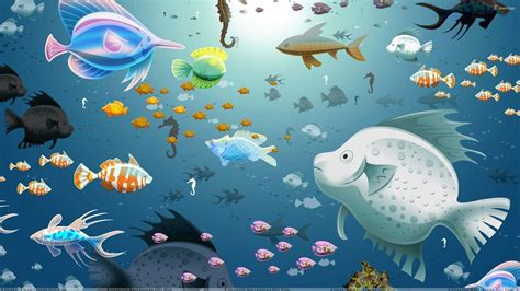 3d wallpaper water fish fish in water wallpaper wallpapersafari