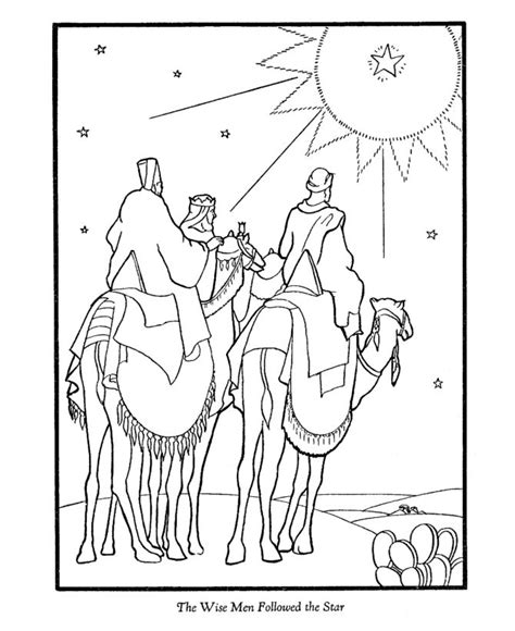 coloring pages for christmas story 13 best images about bible jesus the wise men s gifts