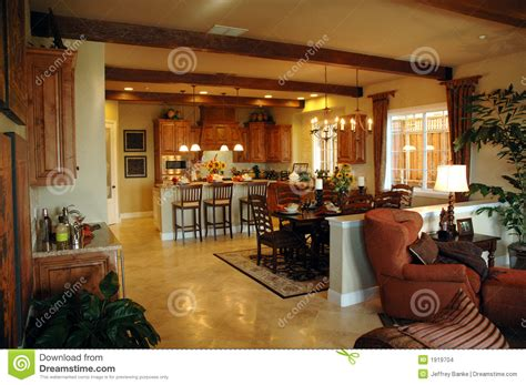 Victorian Homes Floor Plans open plan kitchen area stock images image 1919704