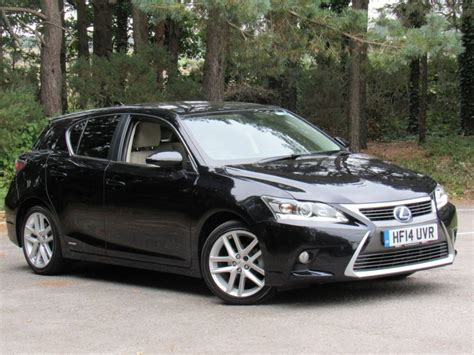 lexus hybrid hatchback used black lexus ct 200h for sale dorset