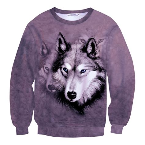 dog house for men aliexpress com buy era dyehouse new tie dye 3d animal sweatshirt wolf dog print