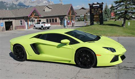 Lamborghini Aventador Price Canada Verde Lamborghini Aventador From Canada