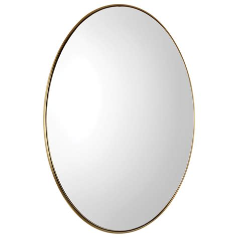 Uttermost Mirrors Oval by Uttermost Mirrors Oval 09353 Pursley Brass Oval Mirror