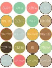 kitchen pantry organizing labels worldlabel