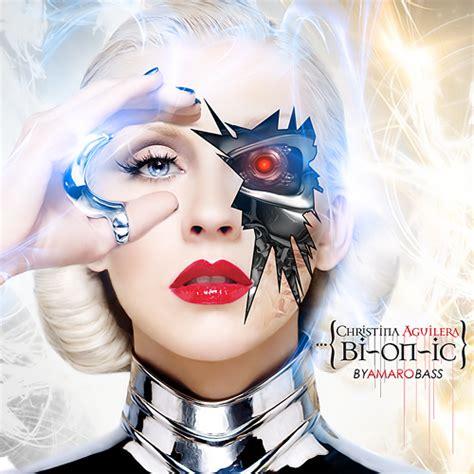 Cd Aguilera Bi On Ic aguilera bionic fan made album cover 2 a photo on flickriver