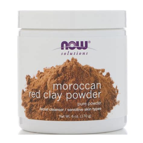 Harga Termurah Now Solutions Moroccan Clay Powder 170 Gr now foods solutions moroccan clay powder 6 oz 170 g iherb