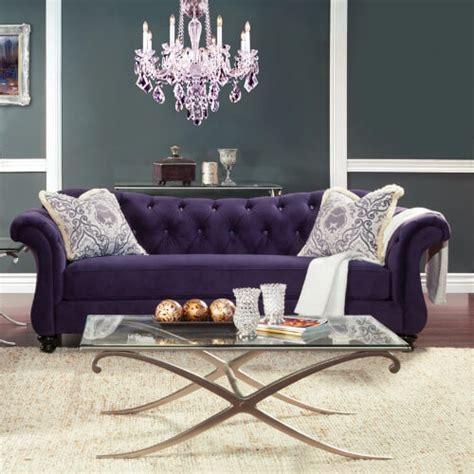 the big purple couch 20 comfortable living room sofas many styles