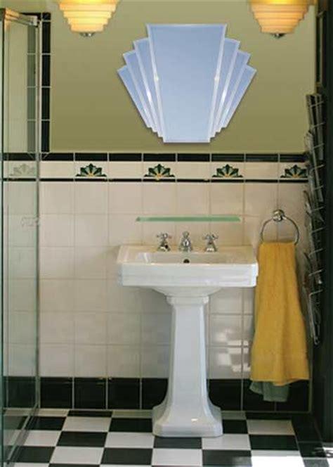 art deco bathroom ideas  pinterest art deco