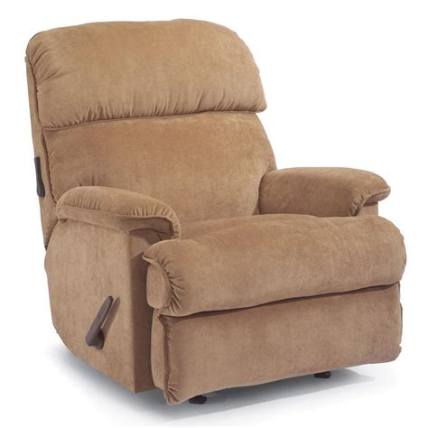 Flexsteel Sofa Recliners by Flexsteel Accents Geneva Rocker Recliner Dunk Bright