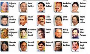 modi cabinet restructuring 17 ministries clubbed 7