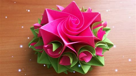 How To Make Handcrafted Flowers - how to make handmade paper flowers for cards