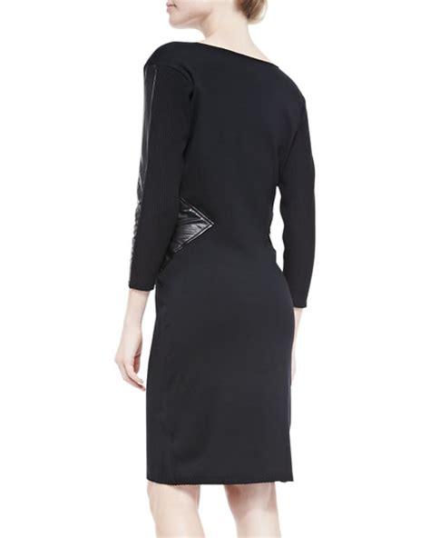 drape neck sweater laundry by shelli segal drape neck sweater sheath dress w
