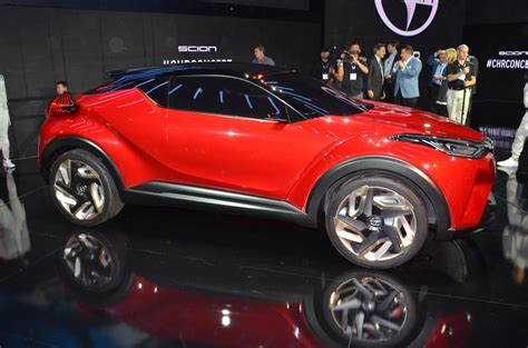 scion previews crossover with the c hr concept that could