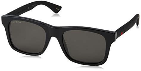 Gucci GG0008S Sunglasses 002 Black / Grey Polarized Lens ... Gucci Sunglasses Warranty