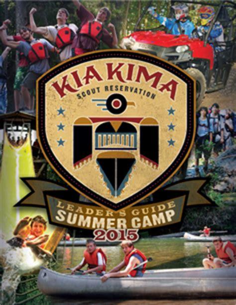 Kia Kima Scout Reservation Leaders Guide Kia Kima Scout Reservation