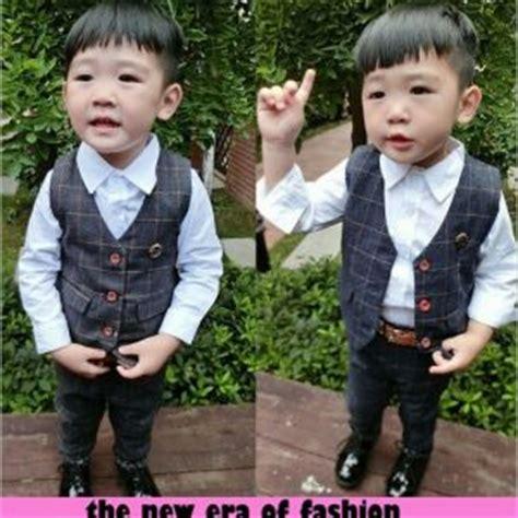Setelan Kemeja Anak Laki setelan baju blazer celana anak laki laki model terbaru murah ryn fashion