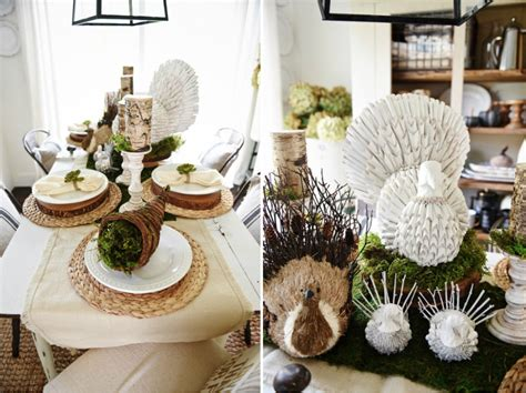 Modern Rustic Decor Ideas Gorgeous Dining Table Fall Decor Ideas For Every Special Day In Your