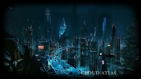 futuristic cloud city skyscraper could bring the dream of movies film posters movie poster cloud atlas science