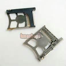 Socket Mc Slot Mc Psp Slim 2000 usd 2 50 memory stick duo card slot parts for psp 1000 2000 3000 lunashops shop