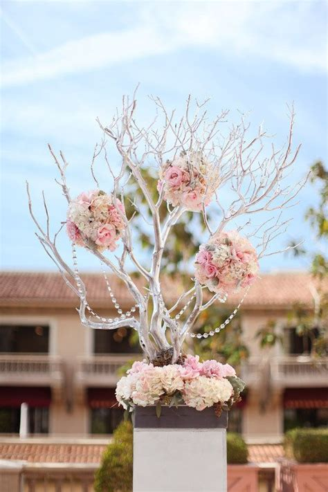 tree wedding centerpieces manzanita wood branches decoration style pin by maria vargas uribe on flowers pinterest