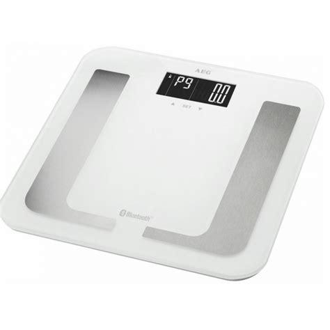 bluetooth bathroom scale aeg pw 5653 bluetooth bathroom scale white 1 pcs 163 20 95