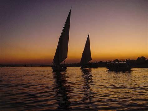 nile sailboats sailboats on nile at sunset style hi club