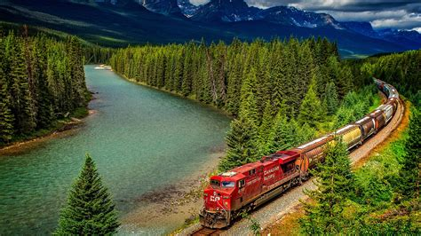 Wall Paper On Ceiling by Canada Scenery Banff National Park N Wallpaper 14416