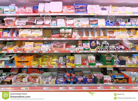 store section cold cuts editorial photo image 58400106