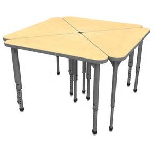 triangle desk apex triangle student desk marco inc