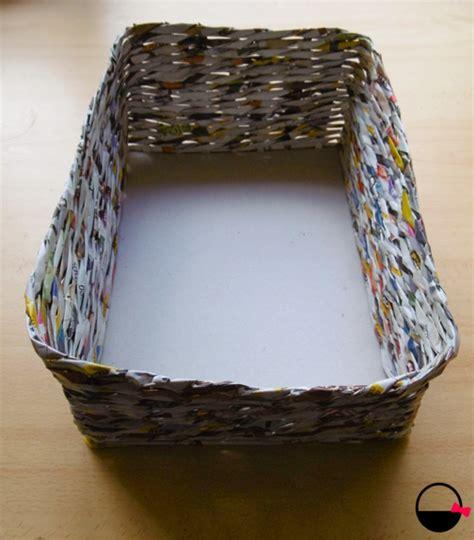 como hacer cestas de papel de periodico c 243 mo hacer una cesta de papel en 8 pasos baskiuts