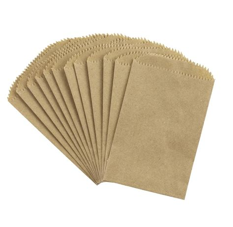 Paper Dolly Pouch 1 paper bags kraft 12 pieces canvas corp brands
