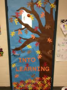25 best ideas about fall classroom door on