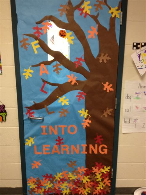 classroom fall door decorations classroom door decorations testing