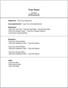 Resume Templates No Work Experience by Sle Resume Accounting No Work Experience Free Resume