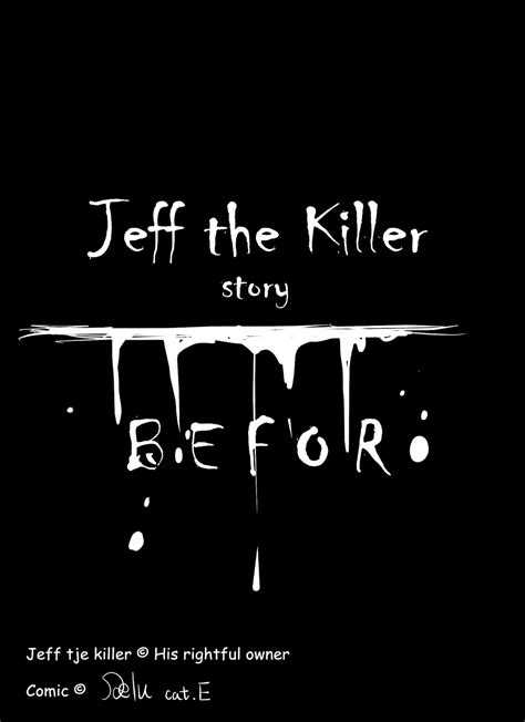killer story jeff the killer story comic pag 2 by delucat on deviantart