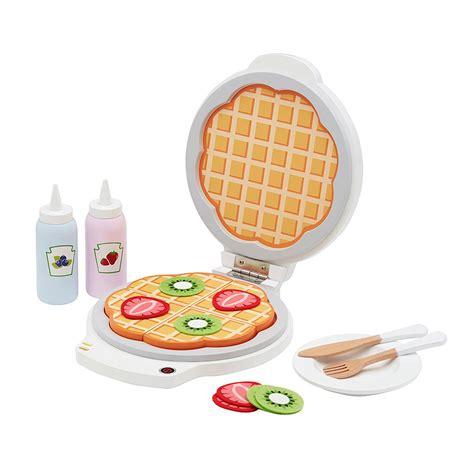 Waffle Set leo concept wooden waffle set