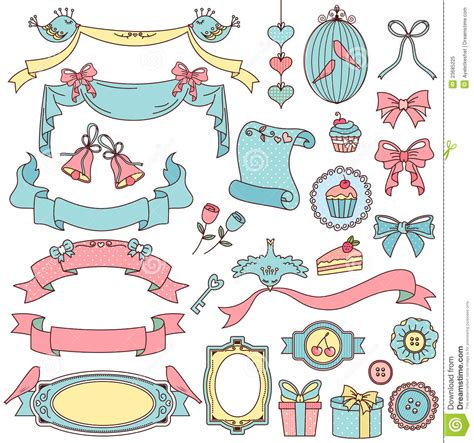 doodle vintage vintage doodles royalty free stock photo image 23685225