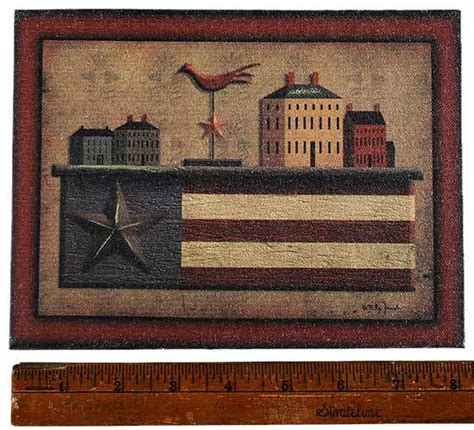 primitive country canvas picture wall art primitive decor