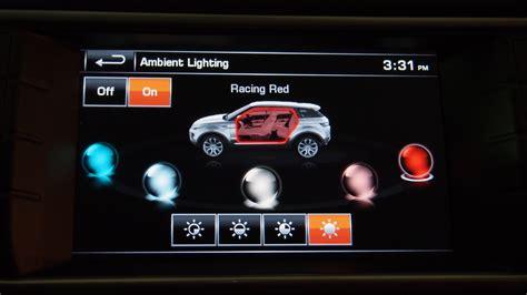 range rover sport interior lighting 2014 range rover evoque 5 door review cars photos test