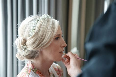 Wedding Hair And Makeup Uckfield by A Look For A Pretty Pink Time In The Woods