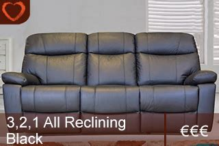 tcs upholstery parker leather suite