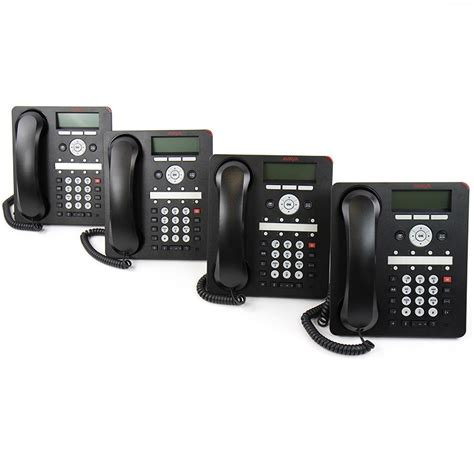 Avaya Ip Office 1608 I Ip Desk Phone 4 Pack 700510907 Office Desk Phone