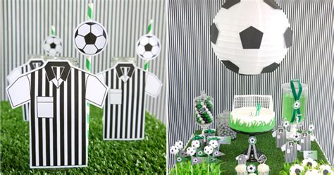 free printable soccer party decorations soccer football birthday party desserts table printables